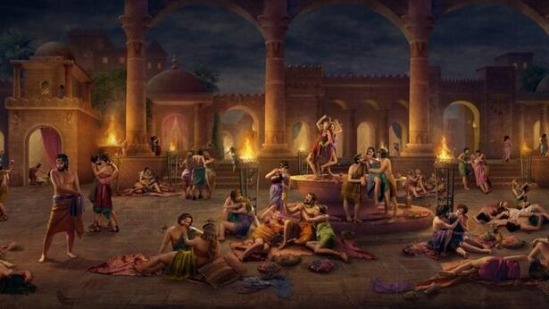 Μετά την επανειλημμένη αντίσταση και εχθρότητα των Σοδόμων προς Εκείνον, ο Θεός τα ισοπεδώνει